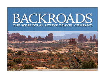 Luggage Free partners with Backroads Travel Company