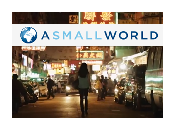 Luggage Free partners with A Small World