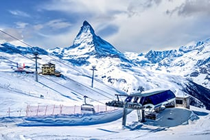 ship my bags to Zermatt