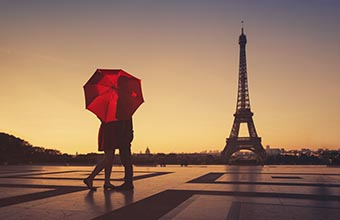 Romantic Destination in Paris