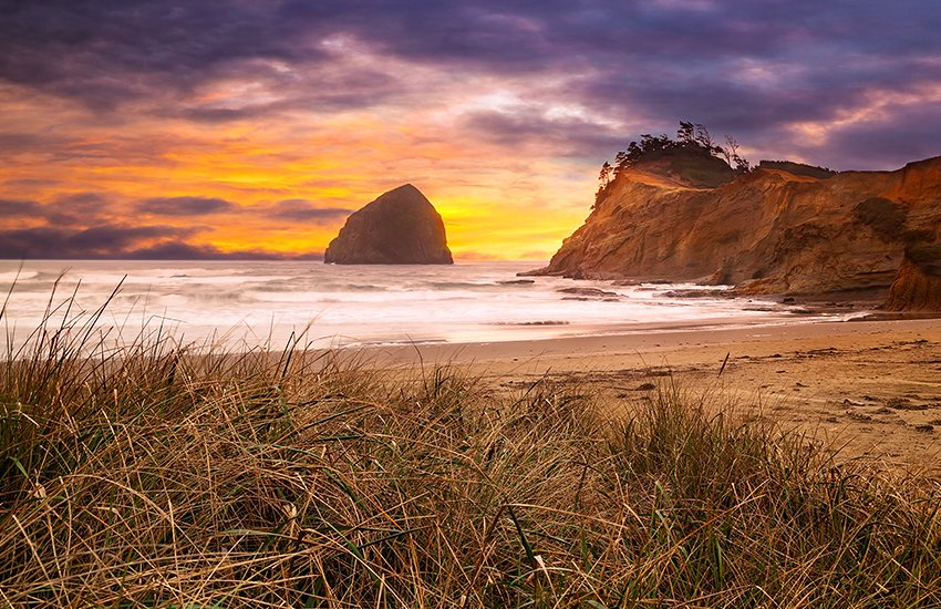 The top beach destination in the summer is Pacific Beach in Oregon