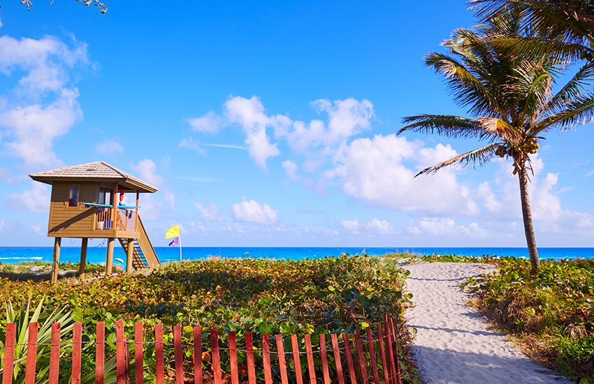 The top warm Labor Day vacation spot is Delray Beach, Florida