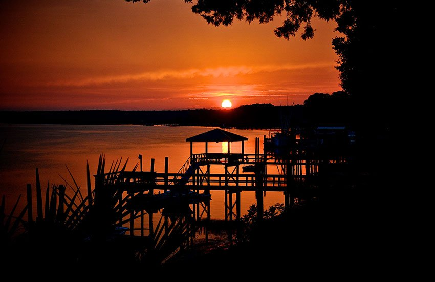 The best summer vacation location to visit is Bluffton in South Carolina