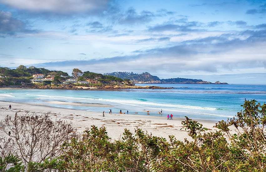Premier summer vacation location is Carmel-by-the-sea in California